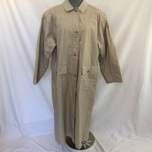 Eddie Bauer Women's Trench Coat Sz L